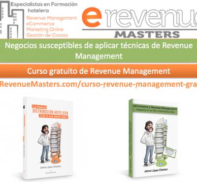 Video – Negocios susceptibles de aplicar técnicas de Revenue Management - eRevenue Masters