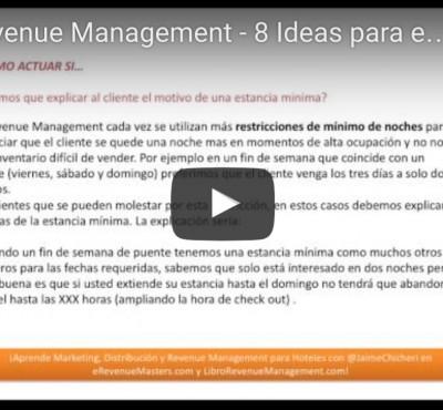 Video – Ideas para entrenar al personal de ventas como apoyo a la estrategia de Revenue Management - eRevenue Masters