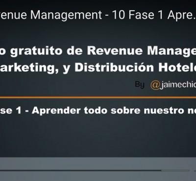 Video – Fase 1 del Revenue Management: Aprender todo sobre nuestro negocio - eRevenue Masters