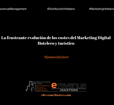 La frustrante evolución de los costes del Marketing Digital Hotelero y turístico - eRevenue Masters