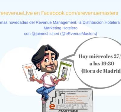(video & Podcast) #eRevenueLive – Lo mejor del Revenue Management – Septiembre 2017 (2) - eRevenue Masters