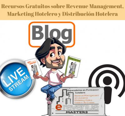 Recursos Gratuitos sobre Revenue Management, Marketing Hotelero y Distribución Hotelera: Videos, Cursos, Libros, Podcasts… - eRevenue Masters