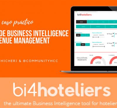 Caso práctico de Business Intelligence y Revenue Management con bi4Hoteliers - eRevenue Masters