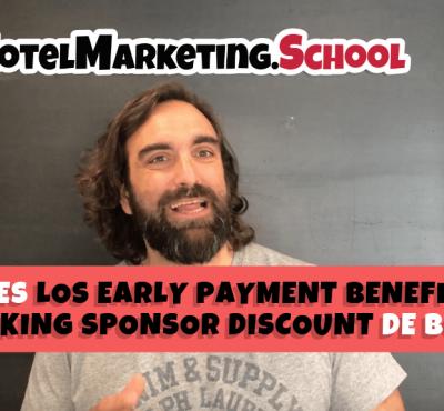 ¿Conoces los Booking Sponsor Discount de Booking? - eRevenue Masters