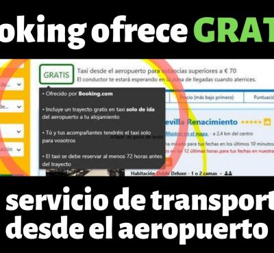 Booking ofrece GRATIS el servicio de transporte desde el aeropuerto - eRevenue Masters