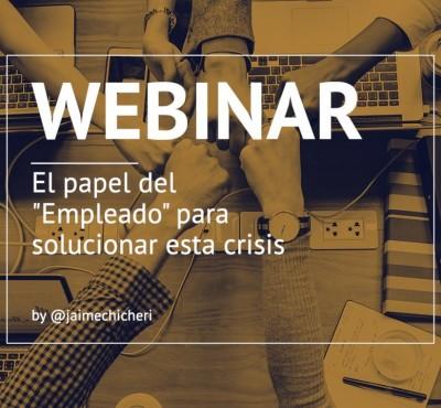 """Webinar – El papel del """"Empleado"""" para solucionar esta crisis - eRevenue Masters"""