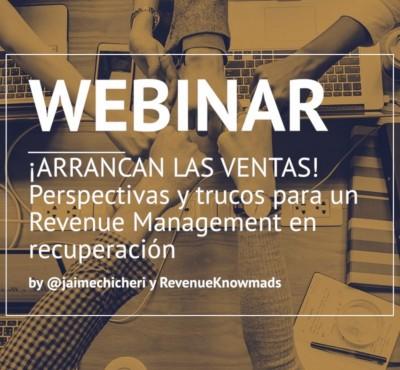 ¡ARRANCAN LAS VENTAS! Perspectivas y trucos para un Revenue Management en recuperación - eRevenue Masters