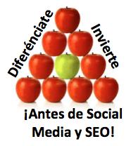 diferenciación seo social media