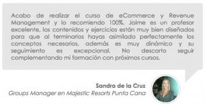 Testimonio de Sandra de la Cruz