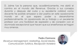 Testimonio de Pedro Carmona