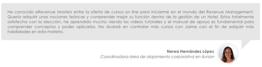 Hernández López, Nerea iLunion Hotels eRevenue Masters
