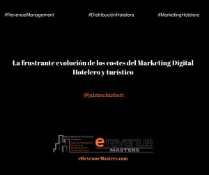 La frustrante evolución de los costes del Marketing Digital Hotelero y turístico