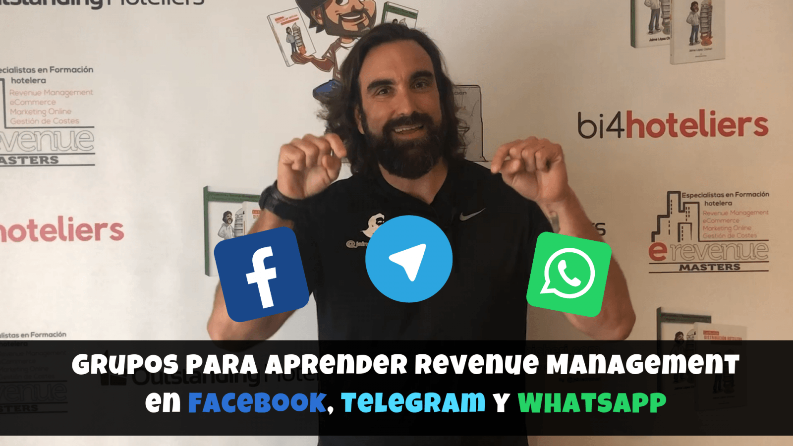 Grupos para aprender Revenue Management en Facebook, Telegram y Whatsapp