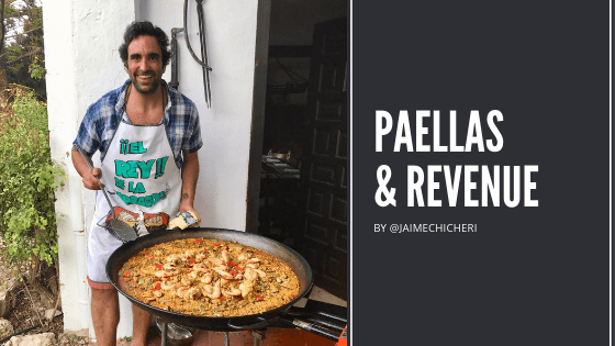 paellas y revenue management con jaime chicheri